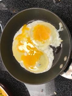 Put in eggs.
